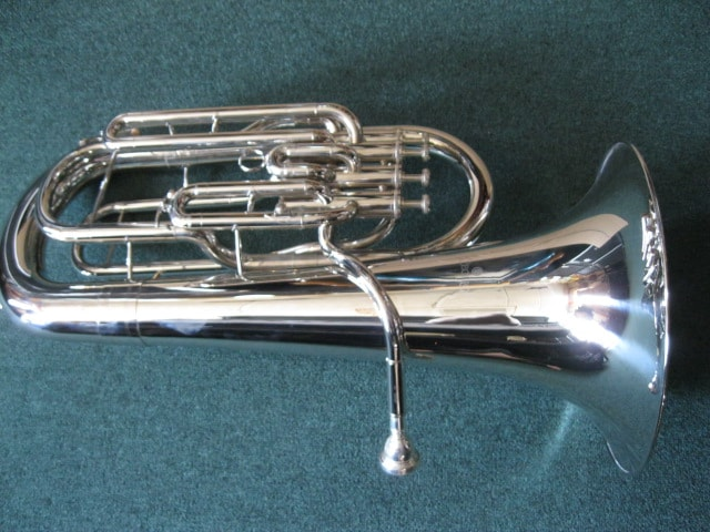 Cecilio Euphonium Nickel, Mint, Soft, $699.99