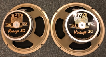 Celestion G12 Vintage 30 speakers pair