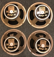 Celestion G12 Vintage 30 speakers set of 4