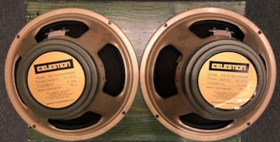 Celestion G12M Greenback pair