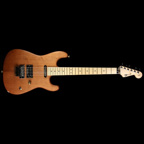 Charvel Custom Shop Exclusive Natural Series Carbonized Mahogany San Dimas Electric Guitar Brand New, $2,799.00