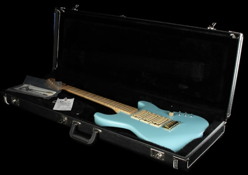 Charvel Custom Shop San Dimas Electric Guitar Robins Egg Blue Robins Egg Blue, Excellent, $2,599.00