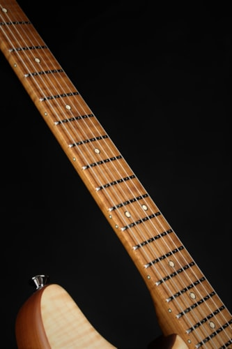 Charvel Guthrie Govan Signature HSH Flame Maple, Caramelized Flame Maple Fingerboard - Natural
