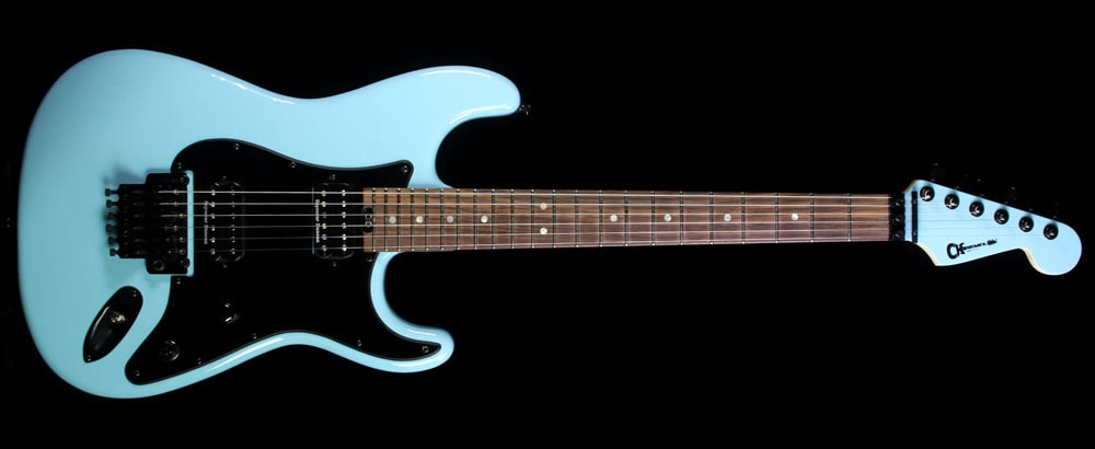 Charvel Used 2014 Charvel Custom Shop SoCal San Dimas Electric Guitar Daphne Blue Daphne Blue, Excellent, $1,999.00
