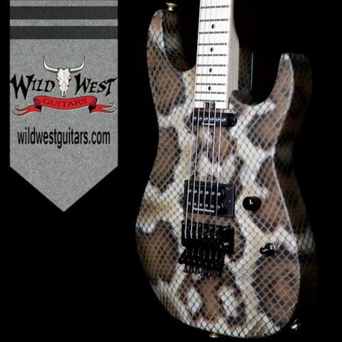 Charvel Warren Demartini Signature Snake Usa Snakeskin Guitars