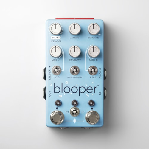Chase Bliss Audio Blooper Looping Pedal