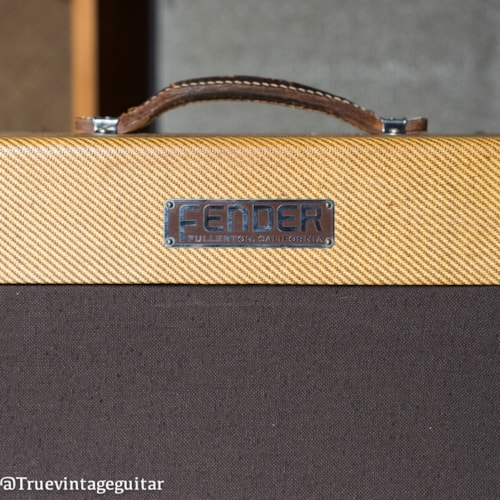 Clean with cover 1953 Fender Deluxe Tweed