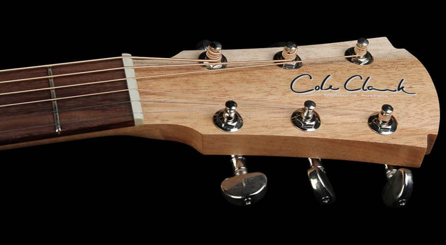 Cole Clark Angel 2 AN2A3-BB-DLX Acoustic/Electric Guitar Natural Natural, Brand New, $2,299.00
