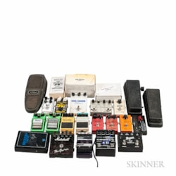 Various Effects Pedals