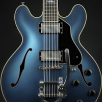 Collings I-35 LC Deluxe Aged Custom Inlay - Pelham Blue
