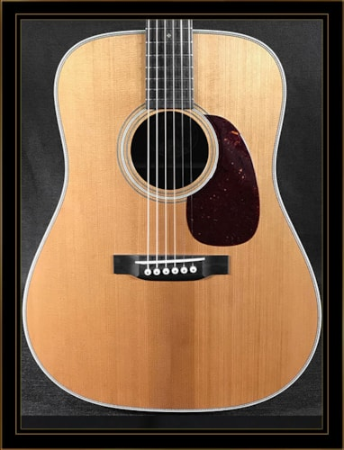 Collings Collings D2HT with Torrefied Adirondack Spruce Top Natural, Brand New, Hard
