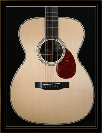 """Collings Collings OM2H with 1 3/4"""" Nut Width Option"""