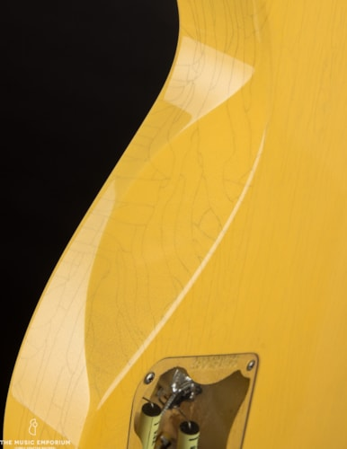 Collings Guitars Collings 290 TV Yellow Aged Finish w/Throbak 52-54 P90s Yellow