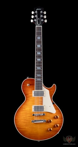 Collings Guitars Collings City Limits with Throbaks, Parallelograms - Faded Iced Tea Sunburst