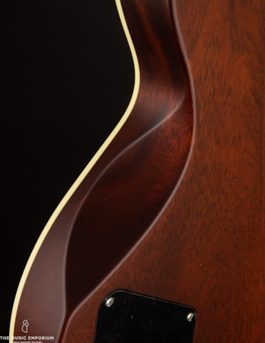 Collings Guitars Collings City Limits Deluxe Tiger Eye Satin Finish w/Throbaks Sunburst