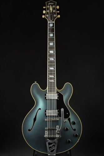 Hold - Collings I-35 LC Deluxe Aged Custom Inlay - Pelham Blue