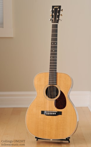Collings OM2H Traditional Brand New, Original Hard, Call For Price!