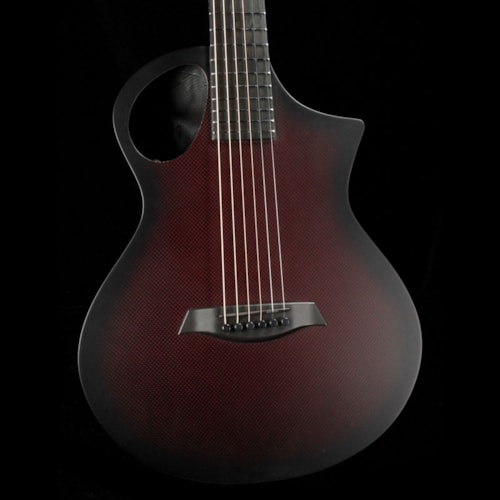Composite Acoustics The Cargo Acoustic Satin Trans Red Brand New $1,499.99