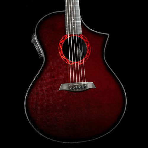 Composite Acoustics The GX ELE Narrow Neck Acoustic Wine Red Brand New $2,999.99