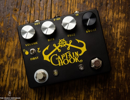 Coppersound Pedals Coppersound Captain Hook Octave Fuzz w/Boost #10 of 70