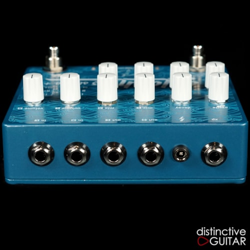 Crazy Tube Circuits Splash MKIII Stereo Reverb Blue, Brand New, $389.00