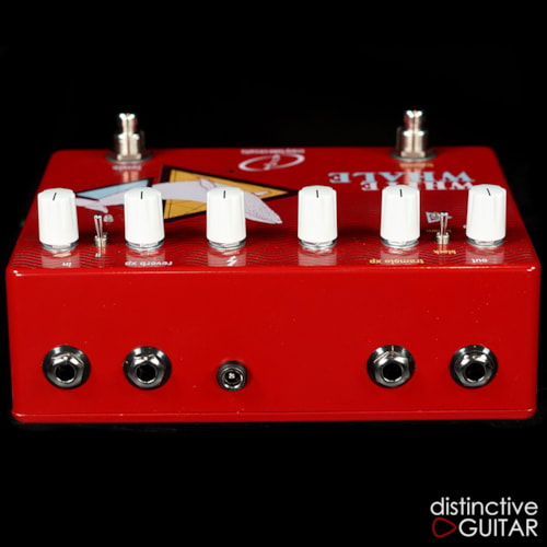 Crazy Tube Circuits White Whale Spring Reverb / Trem Red, Brand New, $369.00