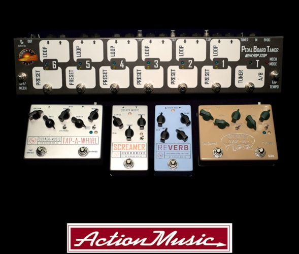 Cusack Music Effects Pedals Brand New
