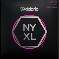 D'Addario D'Addario NYXL45100 Nickel Wound Regular Light Bass Strings 45-100