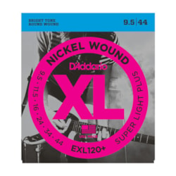 D'Addario EXL120+ Round Wound, Super Light Plus, 9.5-44