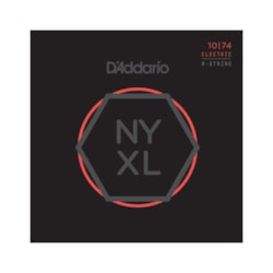 D'Addario NYXL 10-47 Nickel Wound 8-String