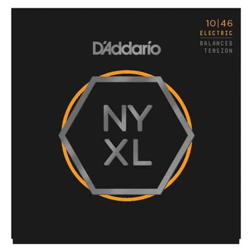 D'Addario NYXL1046 Nickel Wound Strings, Regular Light, 10-46