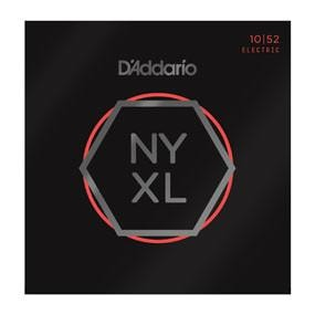 D'Addario NYXL1052 Nickel Wound Electric Guitar Strings, Light Top / Heavy Bottom, 10-52 Brand New $12.99