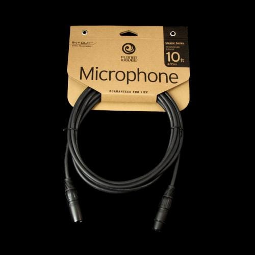 D'Addario Planet Waves Classic Series Microphone Cable (10 Foot)