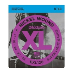D'ADDARIO XL Nickel Wound Super Light Gauge Electric Guitar Strings