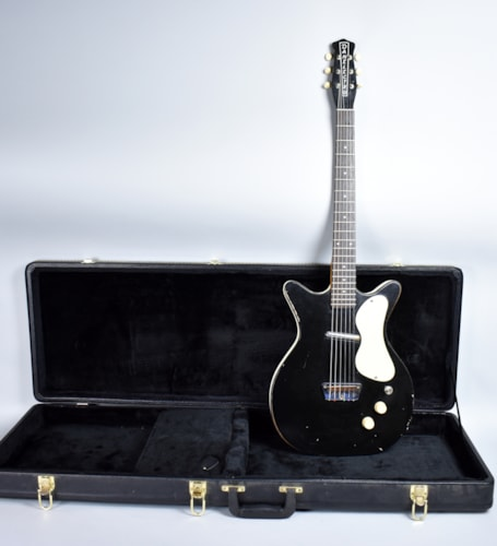 Danelectro Shorthorn Standard Black, Good, Hard, $695.00