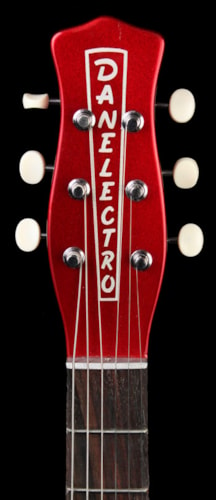 Danelectro Wild Thing Electric Guitar Masonite Body Rosewood FB Candy Apple Red Brand New, $299.99