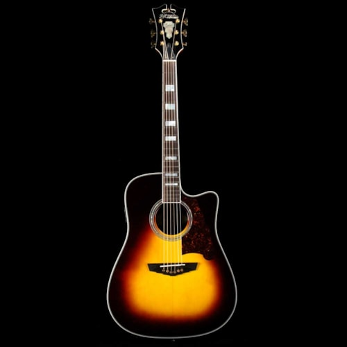 D'Angelico Excel Bowery Acoustic-Electric Sunburst Excellent $575.00