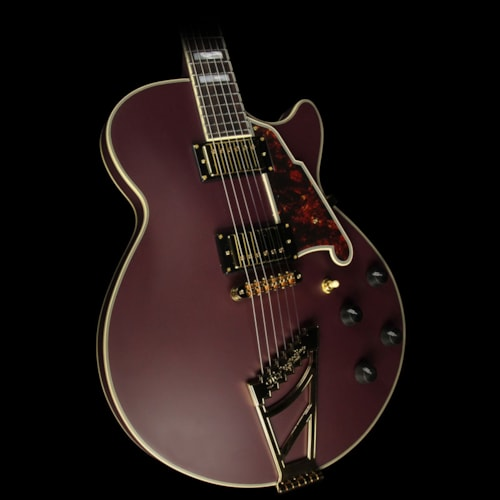 D'Angelico Used D'Angelico Prototype Deluxe SS Electric Guitar Matte Plum Excellent, $1,199.00