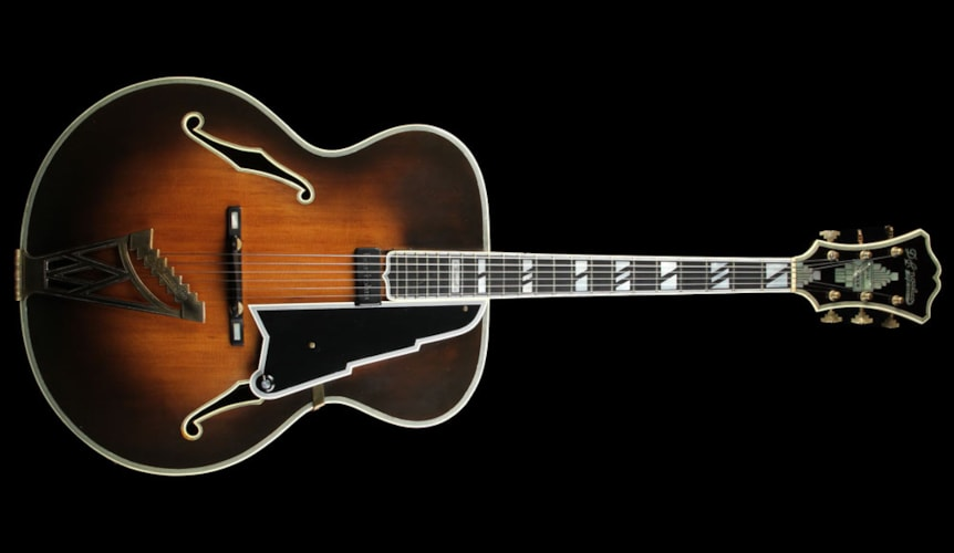 D'Angelico Used D'Angelico Vintage New Yorker Archtop Guitar Sunburst