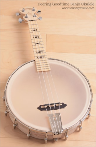 Deering GOODTIME BANJO UKULELE Brand New, Original Soft, Call For Price!