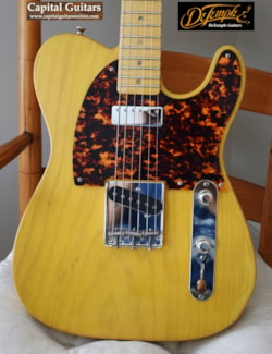 DeTemple Spirit Series '52 with Plug and Play Neck Pickup Wiring