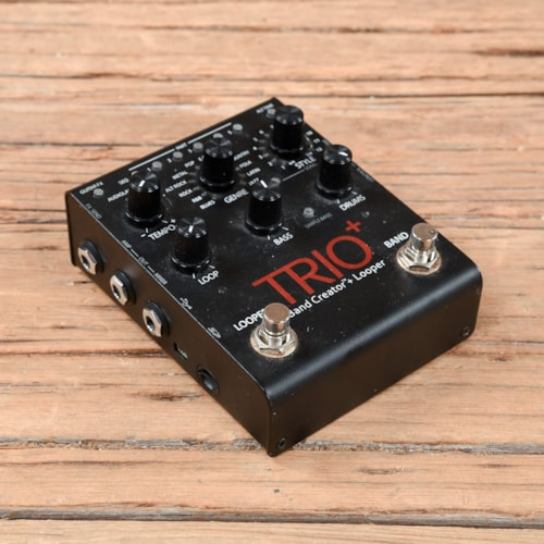 Digitech Trio Plus Band Creator with Looper Pedal w/FS3X Footswitch  USED