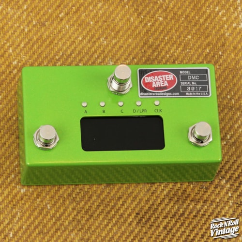 Disaster Area DMC-3XL Gen3 - Granny Smith Green Sparkle Brand New $189.99
