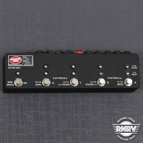 Disaster Area DPC-8EZ Gen3 Programmable Bypass Switcher with MIDI - Black Texture Brand New $349.99