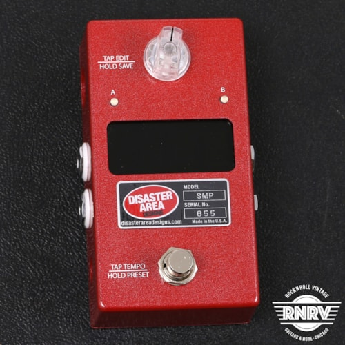 Disaster Area SMARTClock Gen3 Tap Tempo Controller - Empyrian Red Brand New $179.99