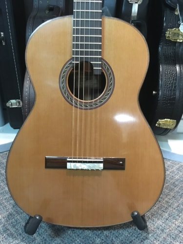 Double Top French Polish Kennith Hill Classical Guitar