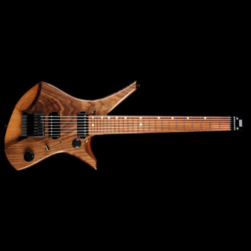 Downes Guitars 101H7 7-String Electric Guitar Walnut Top Natural Brand New, $2,799.00