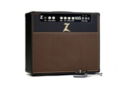 Dr. Z NOVA 1x12 Combo in Black with Oxblood Grille