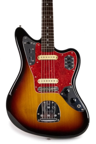 1996 Fender MIJ Jaguar Sunburst