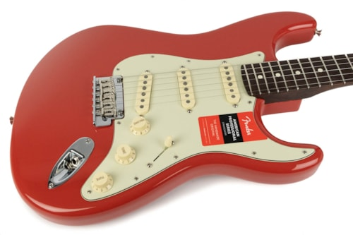 Fender Limited Edition American Pro Stratocaster Fiesta Red